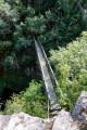 Pont de fer sur la Bouble.