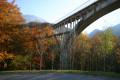 Pont de Seythenex à l'automne