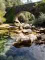 Pont des moulins vu de la Siagne
