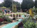 Pont du bassin du jardin du Parc