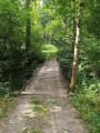 Pont élaboré par l'association Trail des Poilus
