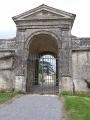 Porche d'entrée du château du Mazeau
