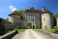 Porte du château La Romagne