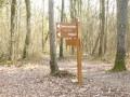 La Croix des Friches et la Forêt de la Tour du Lay