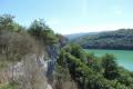 Lac de Vouglans - Falaises du Surchauffant