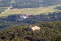 La chapelle Saint Laurent-du-Mont depuis le Parc de Valmy