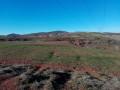 Rebourguil vu du sentier de terres rouges