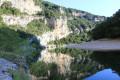 Reflet sur l'Ardèche