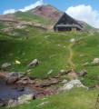 Refuge et Lac d'Arlet depuis Lhers