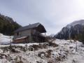 Refuge de Base Rua dans le Val d'Escreins