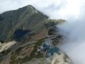 Refuge de Kita-Daké-Sansô vu de haut