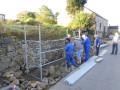 Rénovation du mur en pierres sèches à Gelivaux