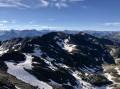 Repérage des petits lacs entre le Rocher de la Grande Tempête et le Pic du Lac Blanc
