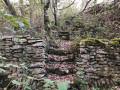 Restes de cultures en terrasses