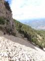 Le Mont Ventoux depuis le camping du Mont Serein