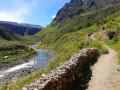 En suivant le Río Colca (Pérou)