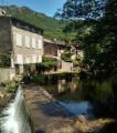 Riviere dans le village de Durfort
