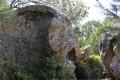rocher sculpté par la nature