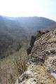 Rochers au dessus de la vallée du dadou