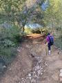 Route après tunnel