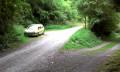 Route d'accès au parking de la chapelle St Etienne à la sortie de Rosay