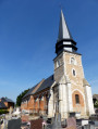 Route de l'église à Ecalles-Alix