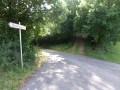 Route forestière menant à la RD63