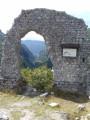 Ruines de l'Eglise Saint-André, vue sur le Val-de-Fier !
