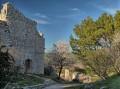 Ruines du Château de la Reine Jeanne,, Ventabren