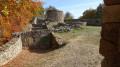 Ruines du chateau médiéval de Rougemont-le-Chateau