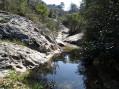 Ruisseau qui cours en dessous de la colline de la Cride