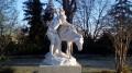 Sculpture dans le Square de l'Abbaye