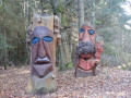 Sculptures peintes