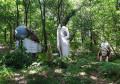 Scupture en pleine forêt