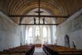 Selles-St-Denis : intérieur de la chapelle St Genouph