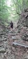 Sentier aménagé