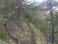 Sentier après le col du gros moure
