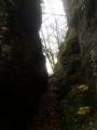 Sentier derrière la Roche Percée