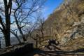 Sentier dominant la vallée du Haut-Grésivaudan