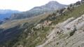 Sentier qui descend de la Turra et qui contourne le Roc des Corneilles