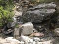 Séparation des sentiers, cours d'eau