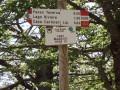 Signalisation au lago Maulazzo