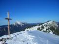 Le sommet de Pravouta en traversée depuis Saint-Hugues