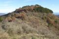 Le sommet de la montagne de Charray au départ de Veyras
