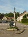 St Illiers le Bois. La place des Tilleuils