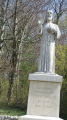 Statue de Nicolas de Flue protecteur de la Suisse