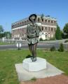 Statue de Zef Cafougnette