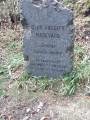Stèle devant le belvédère du Fuchsfelsen