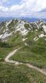 Sur la traversée de la crête du Mont Charvet