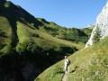 Sur le chemin des châlets de Neuteu